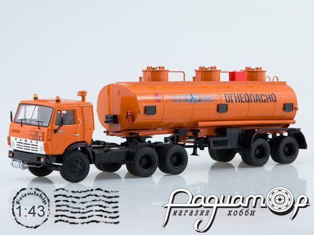 КамАЗ-54112 с полуприцепом НЕФАЗ-96742 (1980) SSM7033