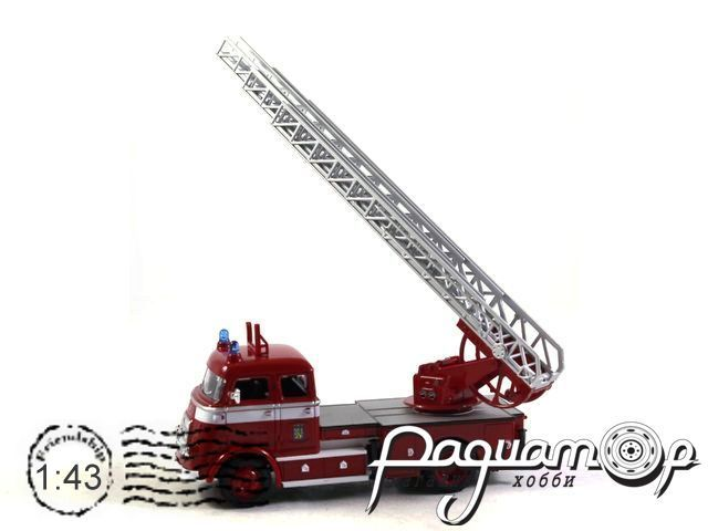 DAF A1600 Feuerwehr Leeuwarden (1962) 43016-C (I) 1154