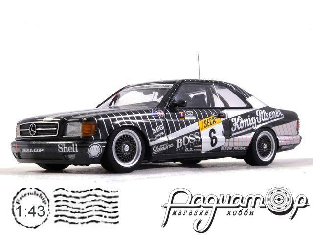 Mercedes 500 SEC AMG №6 Spa, Ludwig/Cudini/Muller (1989) 68932