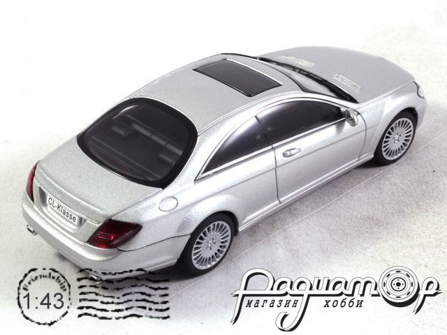 Mercedes CL-Klasse Coupe (2006) 56241