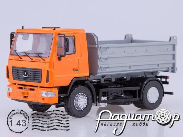 МАЗ-5550 самосвал (рестайлинг) (2010) SSM1214