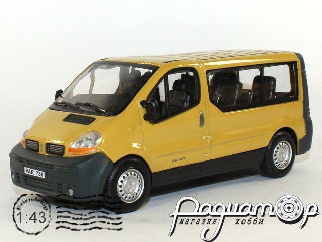 Renault Trafic микроавтобус (2001) 431ND-0036