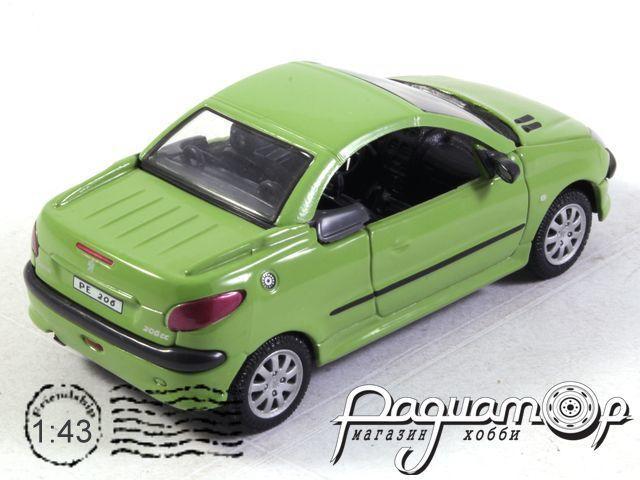 Peugeot 206 СС (2000) 250ND-0102 (B)
