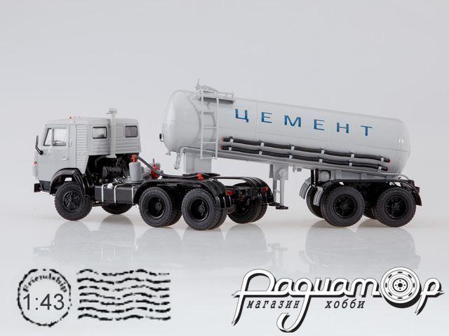 КамАЗ-54112 с полуприцепом-цементовозом ТЦ-11 (1980) SSM7034