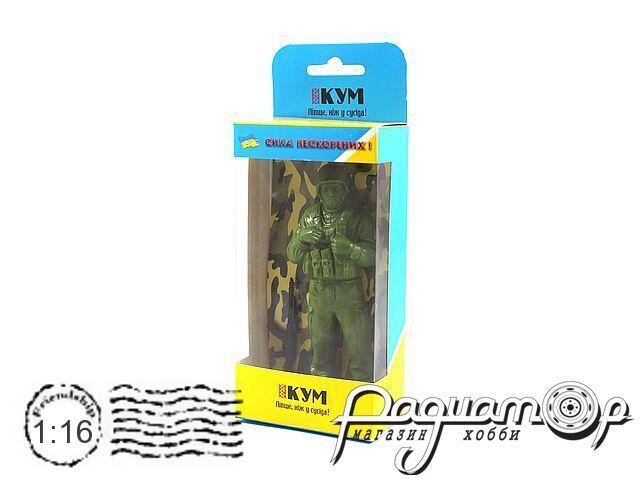 Фигура воина ВСУ №3 Солдат (D)