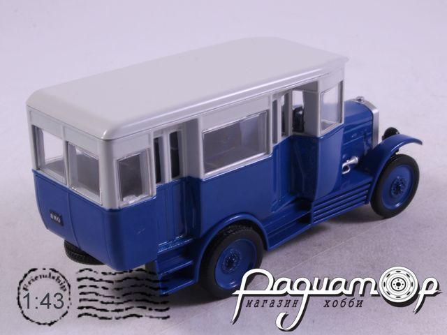 Автолегенды СССР и Соцстран №217, АМО-Ф-15 автобус (1924)