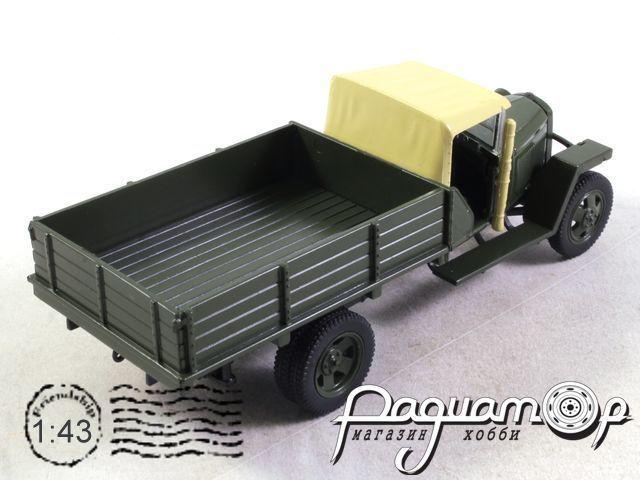 Автолегенды СССР и Соцстран №219, ГАЗ-ММ-В (1941)