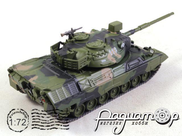 Боевые машины мира №32, Leopard 1A2 (1972)
