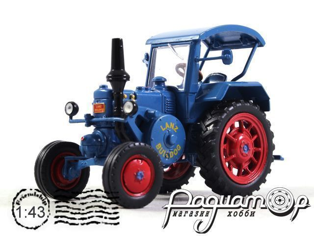 Трактора Мира №3, Lanz Allzweck-Bulldog D 7506 (1952) (I) 2054