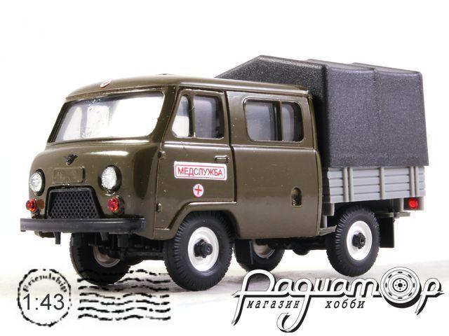 УАЗ-39094 «Фермер» с тентом