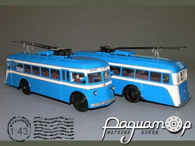 Троллейбус ЯТБ-4, г. Одесса (1950) V1-04.5
