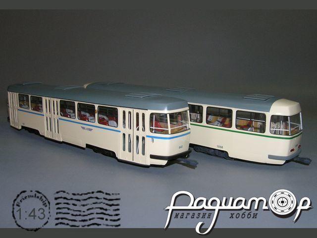 Tatra В-4 прицепной вагон, Leipzig (1958) W1-86.5