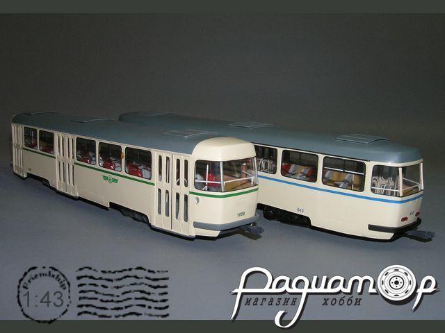 Tatra B-4 прицепной вагон, Magdeburg (1958) W5-86.4