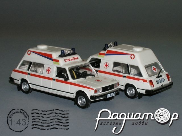 ВАЗ-2104 ТАМРО Ambulance (1990) РZ-64