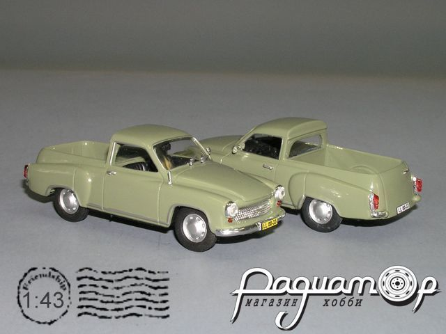Wartburg 311-7 Pick-Up Integration (1956) PX-87