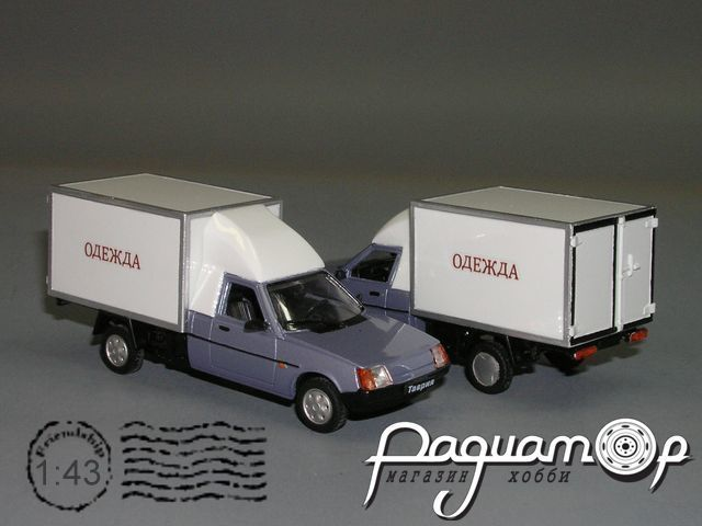 ЗАЗ-1702-АТ130 фургон удлиненный (1992) РZ-86.2