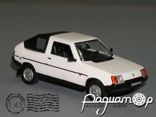 """ЗАЗ-1102 """"Таврия"""" Ландо закрытый (1998) PZ-84.1"""