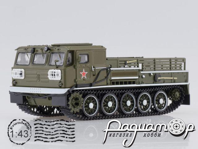 Артиллерийский гусеничный тягач АТС-59Г, парадный (1970) SSM3019