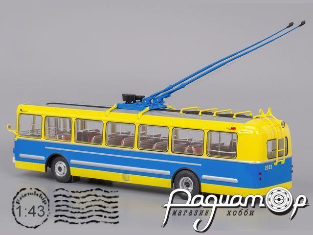 Троллейбус ЗиУ-5 Музейный (1959) 04006E