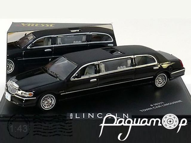 Lincoln Town Car Limousine (2000) 36311
