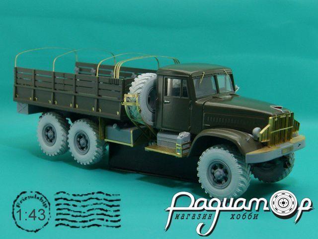 Набор деталировки для модели КрАЗ-214 NS430042