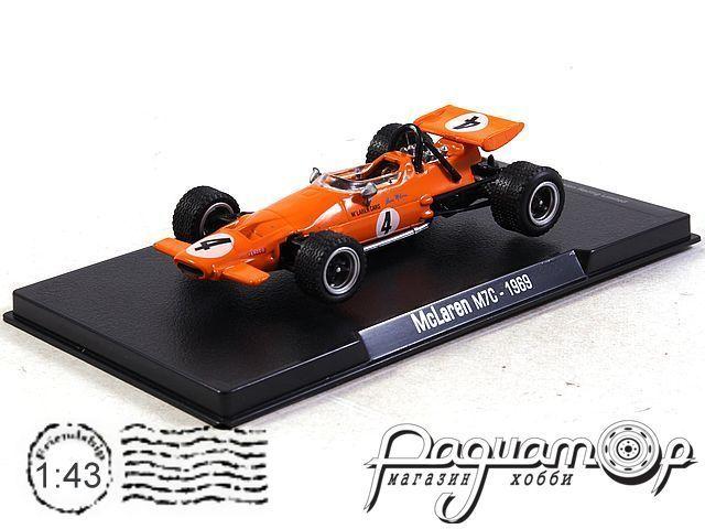 McLaren M7C №4 Formula 1, Bruce McLaren (1969) R04