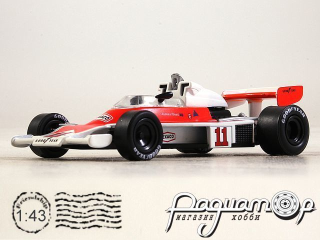 McLaren M23 №11 World Champion Formula 1, James Hunt (1976) GL14