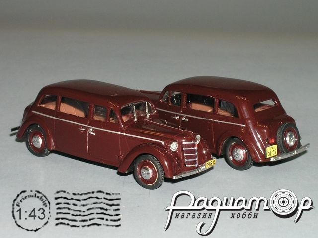 Москвич-400У удлинённый (1950) РZ-49