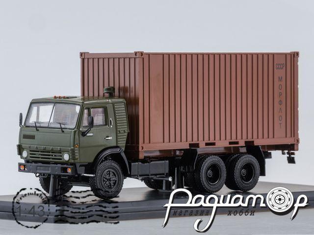 КамАЗ-53212 с 20-футовым контейнером (1979) SSM1281