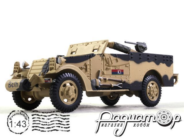 M3A1 Scout Car 5th Field Regiment NZ Artillery Tunisia (1943) EX25