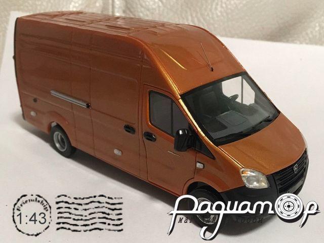 Сборная модель ГАЗель NEXT фургон (2013) MM1042