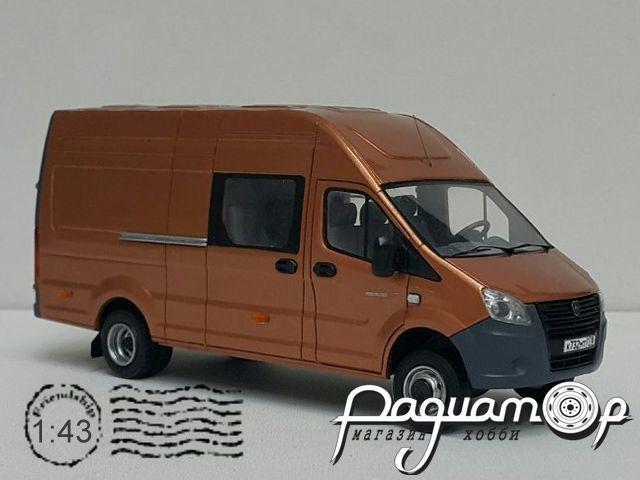 Сборная модель ГАЗель NEXT комби (2013) MM1043