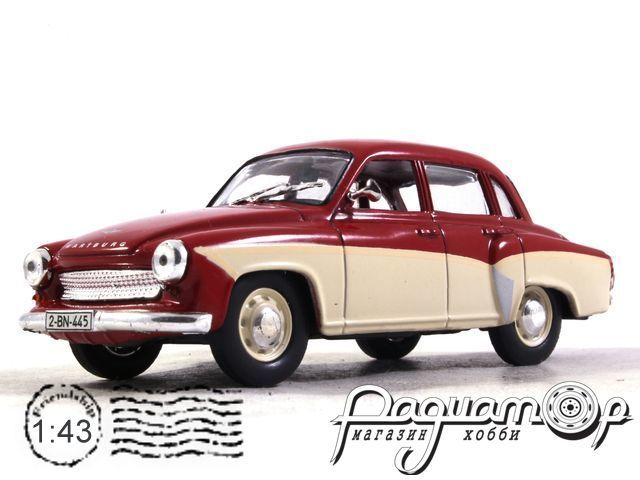 Masini de Legenda №6, Wartburg 312 (1968) (ML)