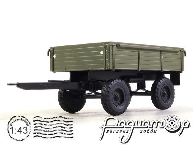 Прицеп для тракторов 2-ПТС-4, деревянный (1980) NRG2036-G