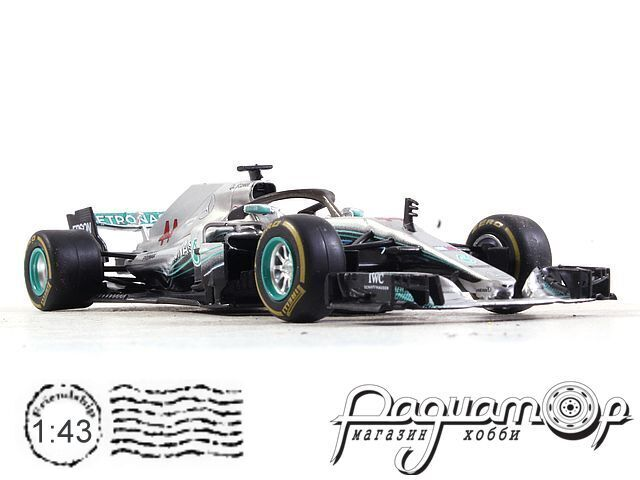 Mercedes W09 EQ Power+, Lewis Carl Davidson Hamilton (2018) (I) 2023
