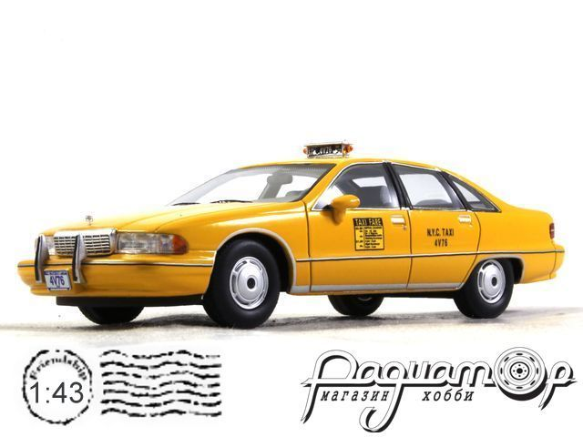 Chevrolet Caprice Sedan New York City Taxi (1991) 43076 (PL)