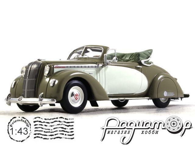 Opel Admiral Hebmuller Cabrio (1938) 43196