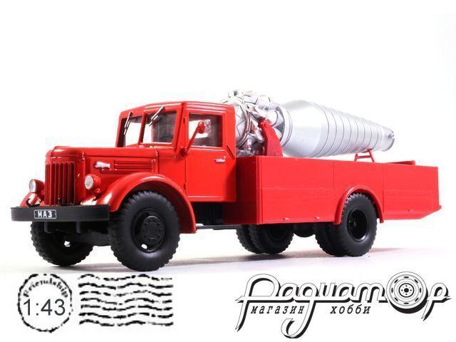 Автолегенды СССР Грузовики №14, МАЗ-200 АГВТ (1951)