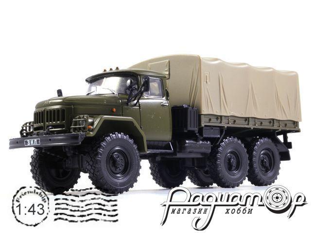 Автолегенды СССР Грузовики №15, ЗИЛ-131 с тентом (1966)