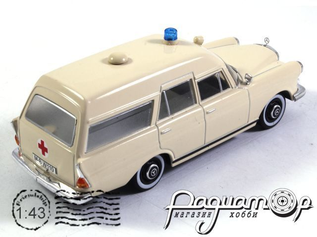 Mercedes-Benz 230 (W110) Binz Ambulance (1967) 7495001
