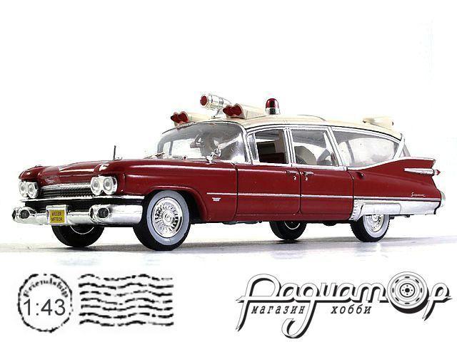 Cadillac Miller Meteor Ambulance (1959) 7495002 (I) 1158