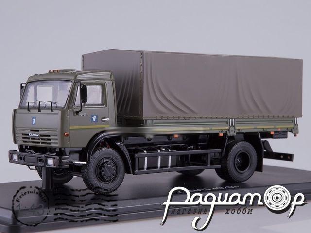 КАМАЗ-43253 бортовой с тентом (2005) SSM1271