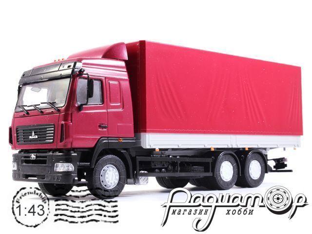 МАЗ-6312 с тентом (2013) 101210-R