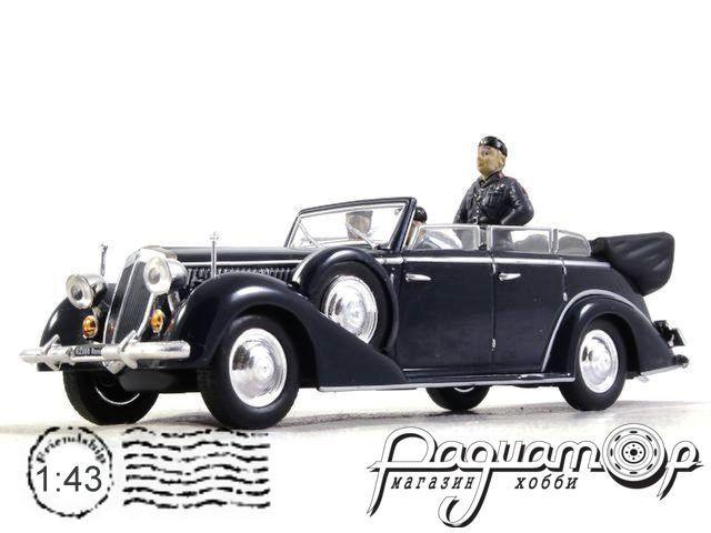 Lancia Astura IV Serie с фигурой Муссолини (1938)570145