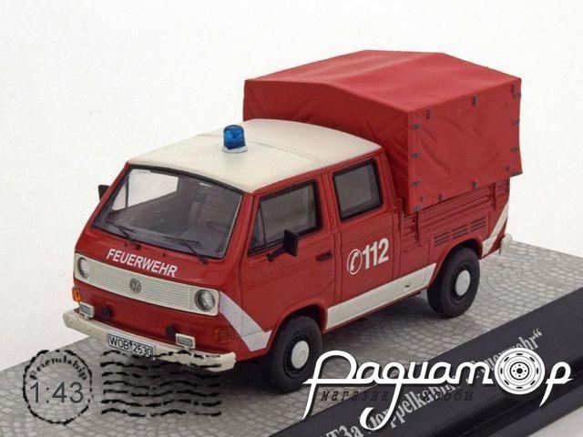 Volkswagen T3a Pritsche mit Plane Feuerwehr (1979) 11529