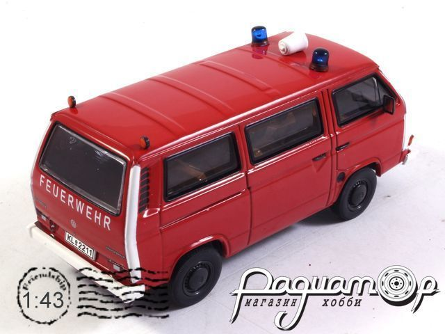 Volkswagen T3b Bus Feuerwehr (1984) 13055