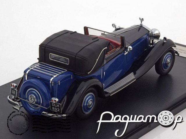 Rolls Royce Phantom II Continental DHC J. Gurney Nutting & Co. Ltd. (1935) 49533
