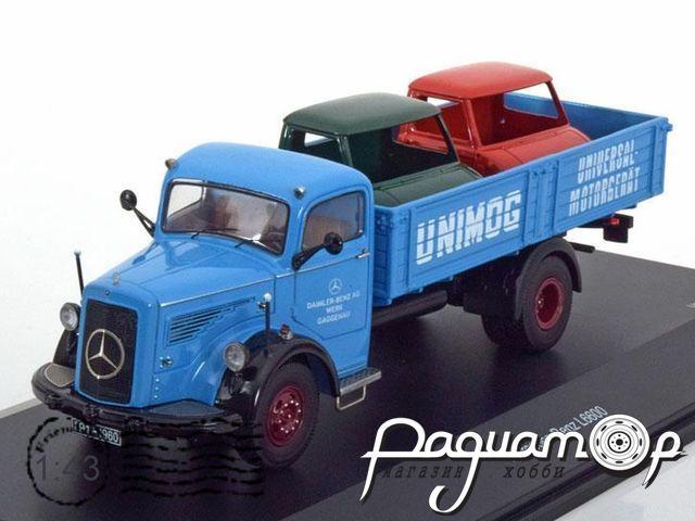 Mercedes-Benz L6600 Gaggenau Pritsche, Unimog (1950) 03026