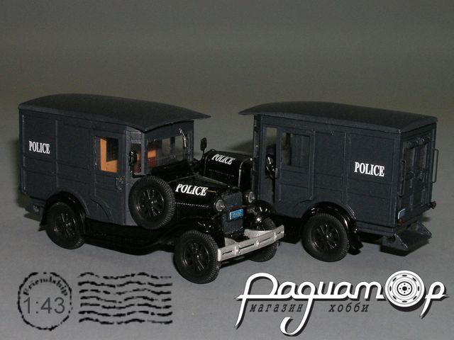 Ford A Police Paddy Wagon (1927) PY-01.2