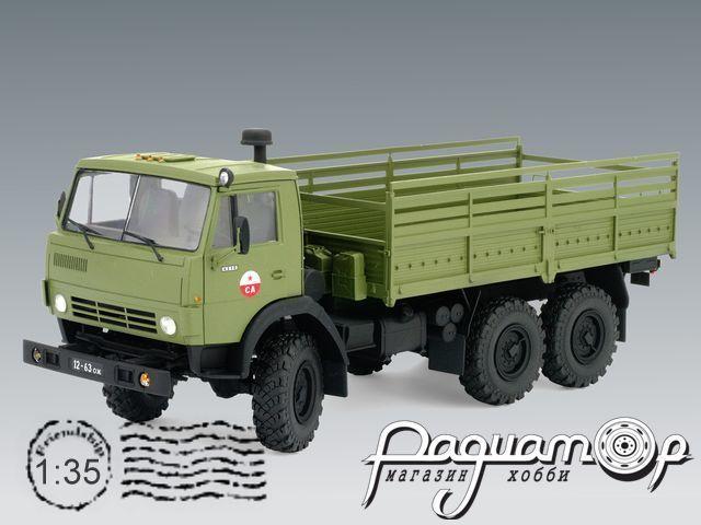 Сборная модель КамАЗ-4310 бортовой (1983) 35001